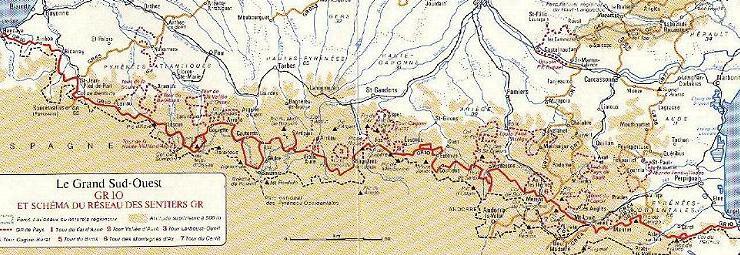 GR 10 (Franse Pyrenee�n)